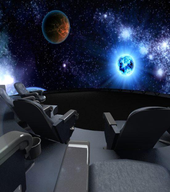 Аттракцион 3d планетарий на детский праздник в Уфе