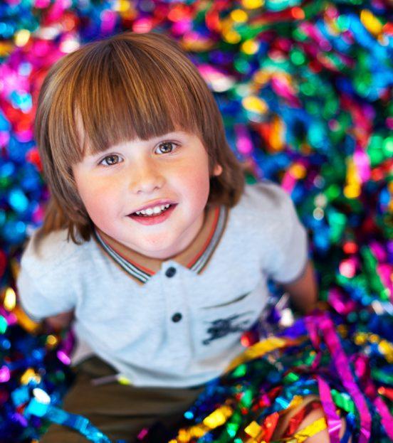 Детская бумажная дискотека на праздник в Уфе