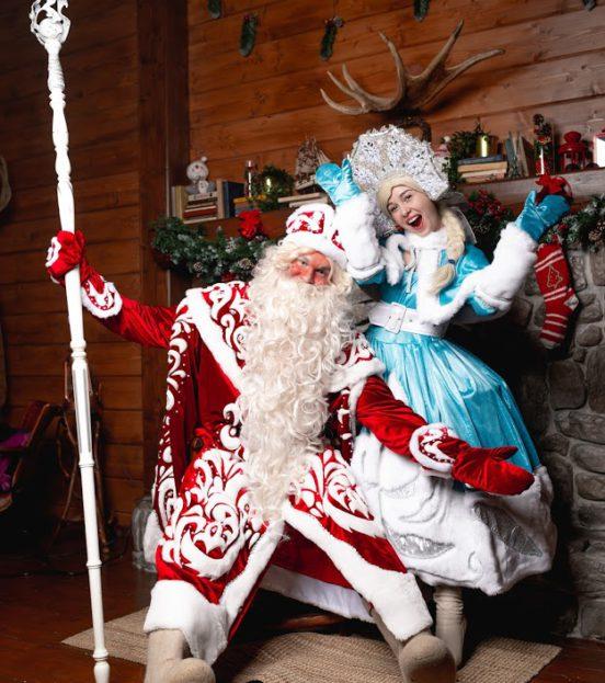Заказать поздравления Деда Мороза и Снегурочки на дому в Уфе