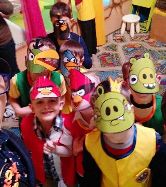 Angry Birds party - день рождения в стиле Энгри Бердс