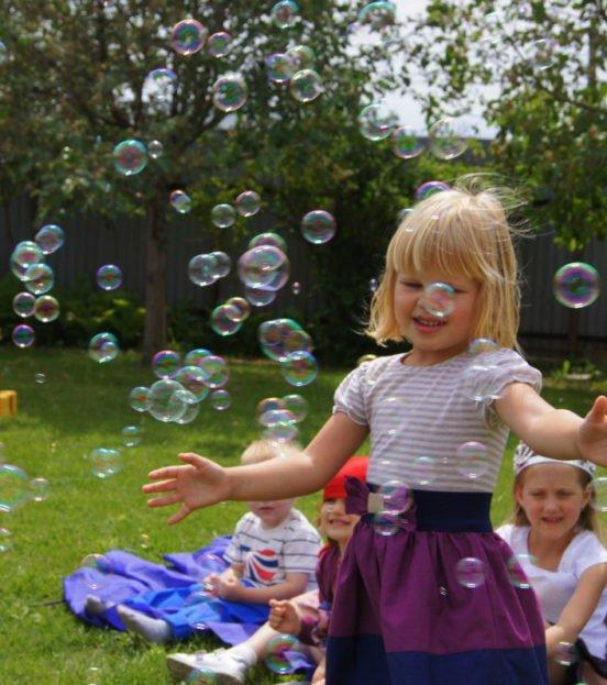 Геренатор мыльных пузырей на детский праздник в Уфе