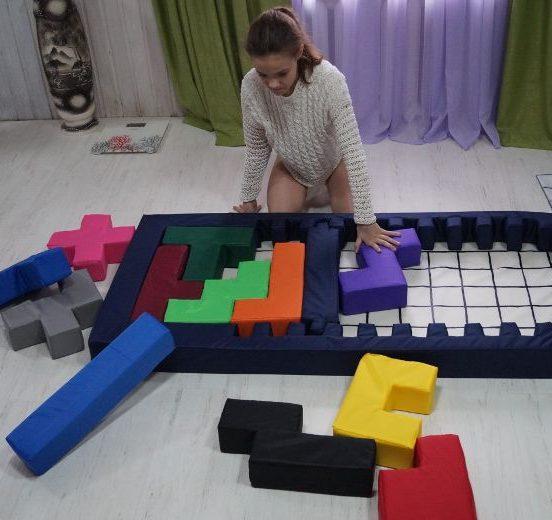 Гигантские головоломки на детский праздник в Уфе