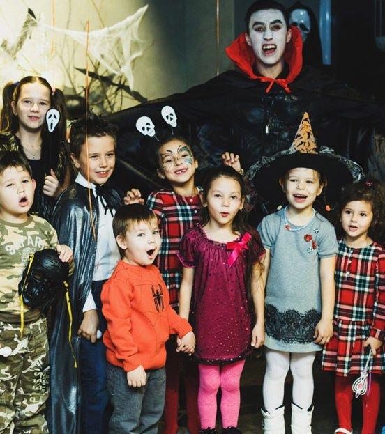 Праздник Хэллоуин для детей в Уфе