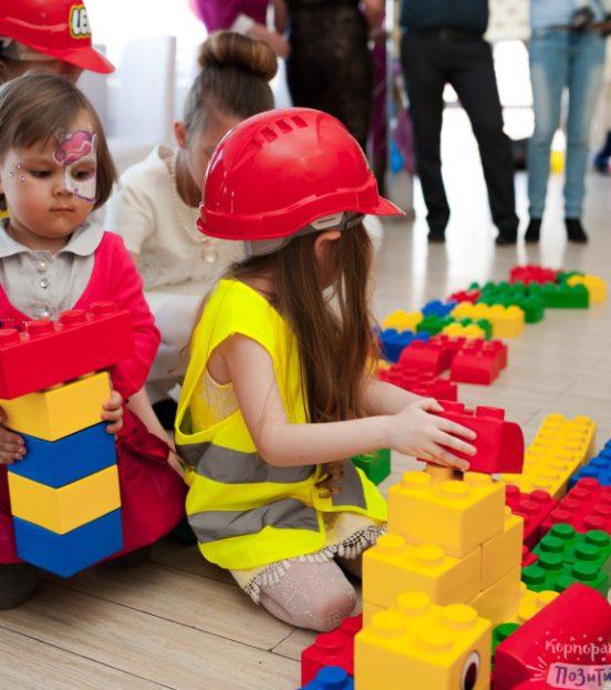 Лего party - детский праздник или день рождения в стиле лего в Уфе