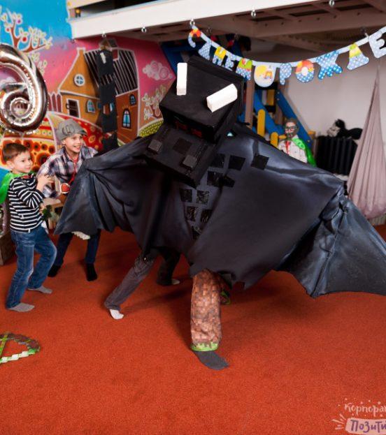 Майнкрафт party - детский день рождения в стиле майнкрафт в Уфе