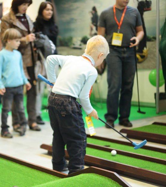 Мини-гольф на детский праздник в Уфе