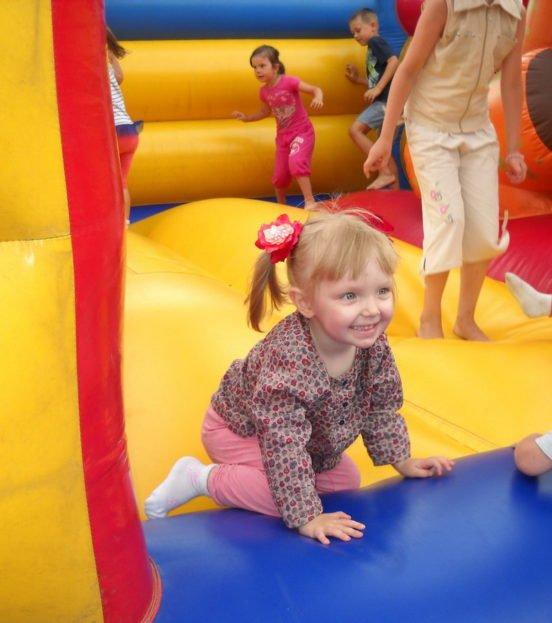 Надувной детский батут на праздник в Уфе