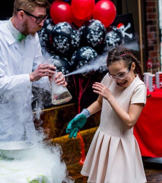 Наука party - научный день рождения ребенка в Уфе