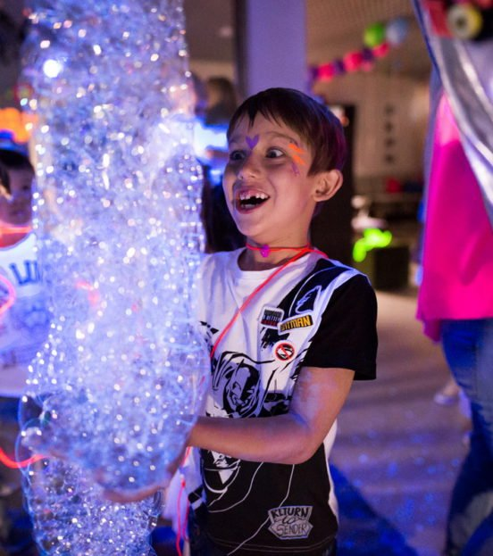 Шоу мыльных пузырей на детский праздник в Уфе