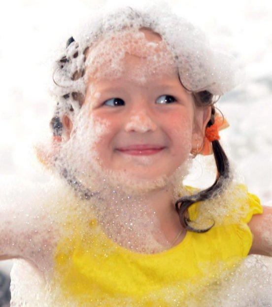 Пенная дискотека на детский праздник в Уфе