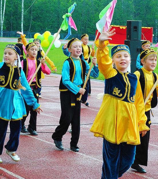 Сабантуй - веселый праздник для детей в Уфе
