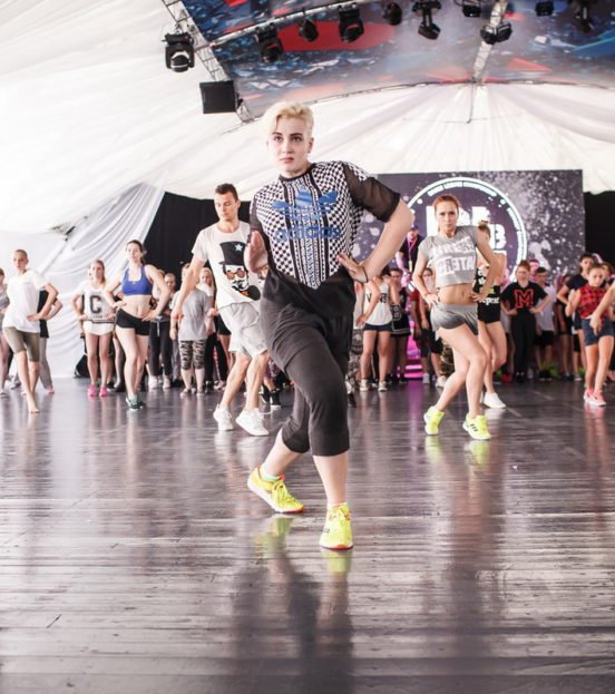 Танцевальный мастер-класс на детский праздник в Уфе
