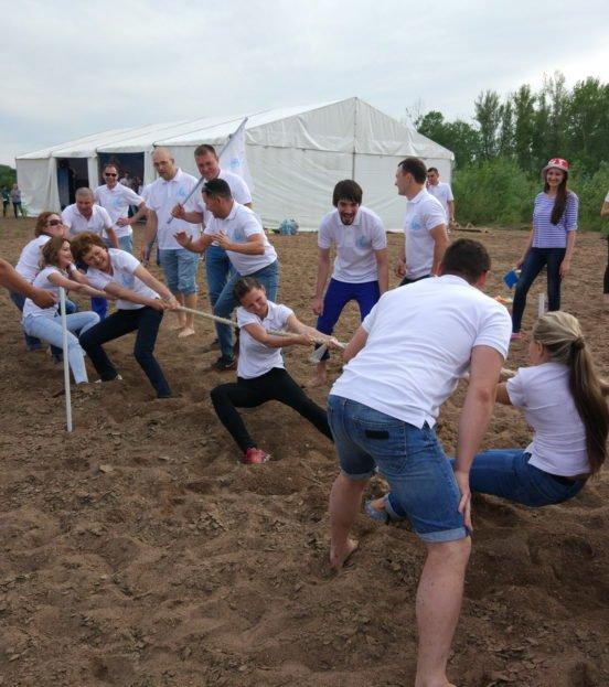 Тимбилдинг на свежем воздухе - организация и проведение в Уфе
