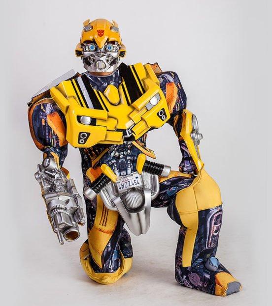 Аниматор Робот-трансформер на детский день рождения в Уфе