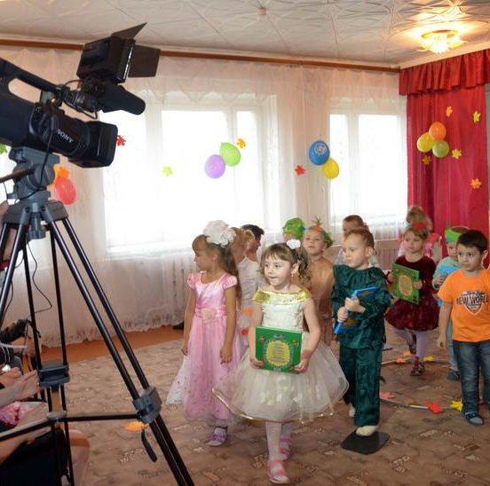 Видеосъемка на выпускной в детский сад в Уфе