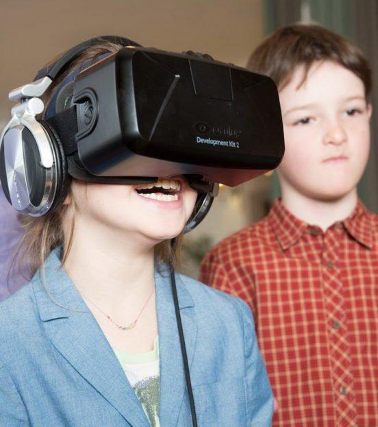Аттракцион виртуальной реальности на детский праздник в Уфе